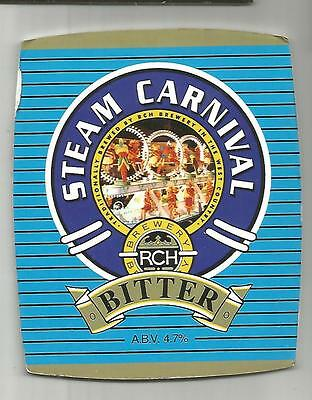 RCH Brewery - STEAM CARNIVAL - Beer Pump Clip Front