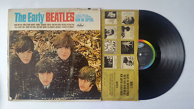 The Beatles 'Early Beatles' 1965 Capitol Records T-2309 Mono LP - VG - Tested