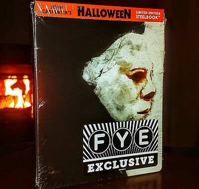 HALLOWEEN (Blu-ray, 1978) STEELBOOK-LIMITED EDITION-BRAND NEW & SEALED!