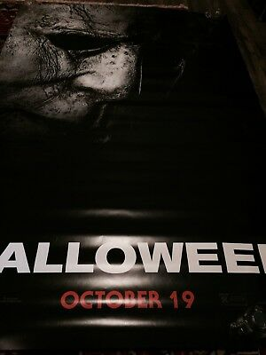 Halloween 2018 Large 4x6ft Original Movie Poster Ds Bus Shelter