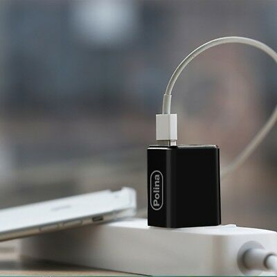 Dual USB Wall Charger Lighting Fast Speed And Travel Convenient For All Phones
