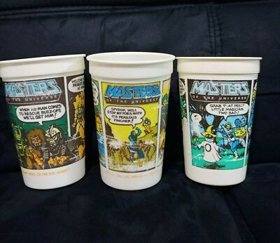Vintage 1985 Pepsi Burger King Masters Of The Universe He-Man rare cup