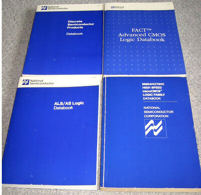 NSC Data Books - 1983-93 HC, AS/ALS, FACT Logic, and Discrete Semiconductors