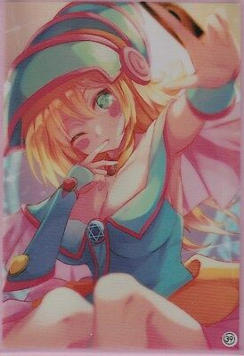 (100)Yu-Gi-Oh Standard Size Sexy Dark Magician Girl Card Sleeves 100 pieces #39