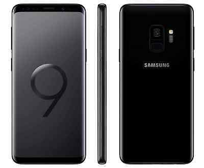 Samsung Galaxy S9  SM-G960U - 64GB - Midnight Black (Factory Unlocked) 7/10