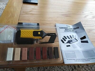 Laminate flooring repair kit