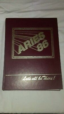 1986 Aries Rockville High School Yearbook Rockville Maryland Free Shipping!!