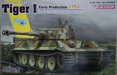 "Dragon 6885 Tiger Early Production ""TIKI"" Das Reich Division  Smart Kit   1:35"