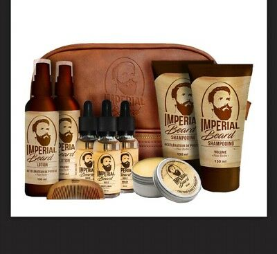Imperial Beard trousse complete 8 soins pour barbe neuf