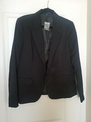 NWT womans  Harve Bernard Black suit blazer size 14