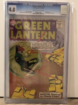 Green Lantern #3 - Cgc 4.0 - Crm/ow Pages