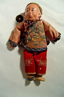 Antique Chinese Composition Doll B