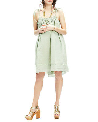 Hatch Collection Womens  Penelope Gathered Dress