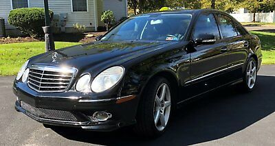 2008 Mercedes-Benz E-Class E350 4Matic 2008 Mercedes-Benz E350 4MATIC (AMG Sports Package)