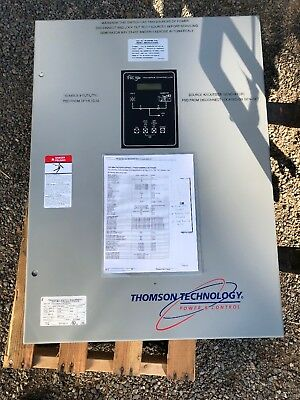 200 Amp ATS  Max 240 V  1 Or 3 Phase 50/60 Hz Thomson Tec   NEMA 3R