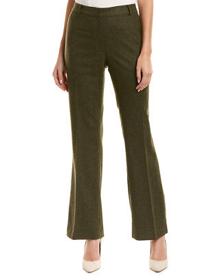 Brooks Brothers Womens  Wool-Blend Pant, 12