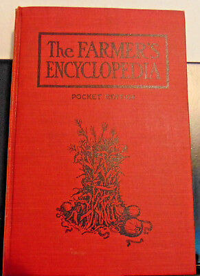 1905 The Farmer's Encyclopedia, J. I. Case Plow Works, Racine, Wisconsin