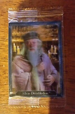 Harry Potter Chocolate Frog Albus Dumbledore card still sealed