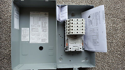 Siemens lighting contactor LCE01C009120A - 9 N.O. poles 30A 120V coil