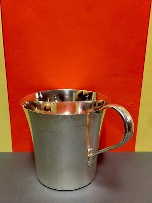 VINTAGE WEBSTER STERLING SILVER BABY CUP. 69g. EXCELLENT CONDITION.MONOGRAMED.