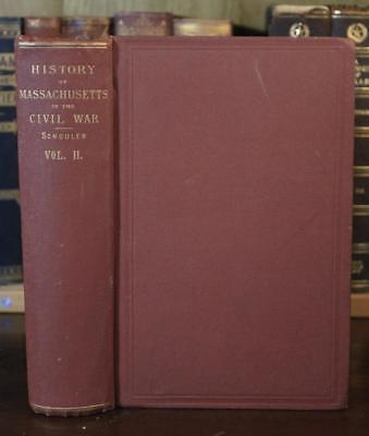 1871 HISTORY OF MASSACHUSETTS IN THE CIVIL WAR vol2 union army regiments