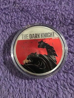 "2016 30TH ANN ""THE DARK KNIGHT RETURNS RARE 2oz PROOF SILVER COIN"" (LTD. 3000)"