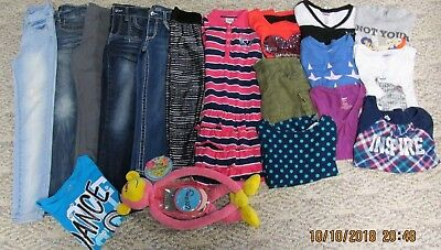 Girls Size 8 Back To School Justice, Gap, Cherokee & More Clothing Lot