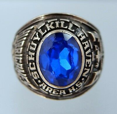 1981 Schuylkill Haven, PA Area High School Class Ring NR