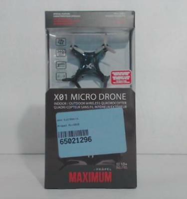 NEW Propel VL-3513 Maximum X01 Black Micro Drone
