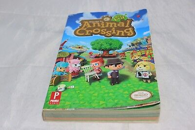 Animal Crossing New Leaf Prima Official Game Guide USED