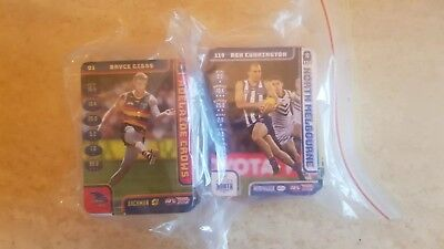 afl 2018 teamcoach common cards full set of 234 cards