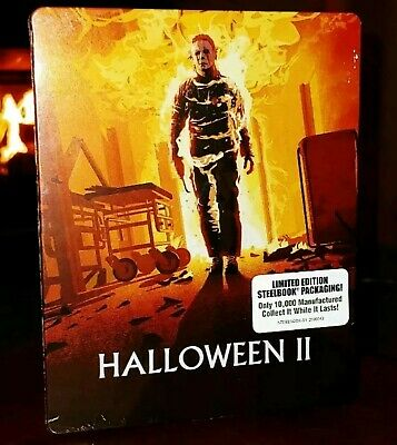 HALLOWEEN II 2-Disc (Blu-ray+DVD, Limited Edition) Steelbook-BRAND NEW & SEALED