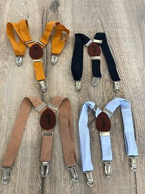 4 Pairs Of Size Small Lacey Lane Suspenders