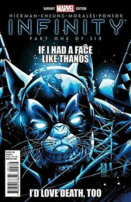 Infinity #1 Party Variant Nm 1St Print