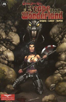 ESCAPE FROM WONDERLAND #6 Bonk Variant A Grimm Fairy Tales Zenescope