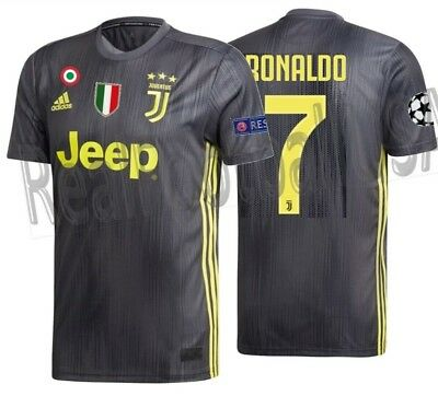 competitive price f5ab1 19fc3 ADIDAS CRISTIANO RONALDO Juventus Uefa Champions League Third Jersey  2018/19.