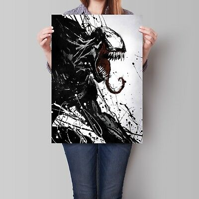 Venom Movie Poster 2018 Tom Hardy Wall Art A2 A3