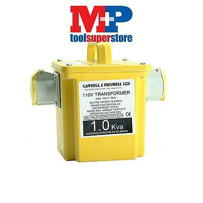 Carroll & Meynell 22502 2250/2 Transformer Twin Outlet Rating 2.25Kva Continuous