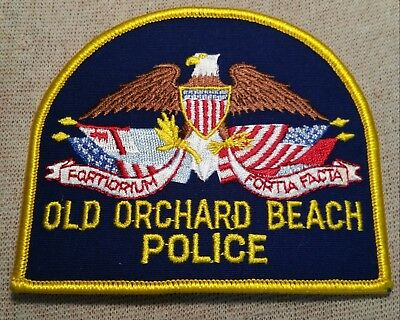 ME Old Orchard Beach Maine Police Patch