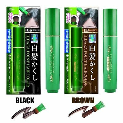 Natural Herb White Hair Cover Pen White Long-Lasting Black Brown Temporary New