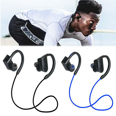 Ear Hook Wireless Bluetooth Headphone Stereo Bass Earphone Sport Headset Earbuds