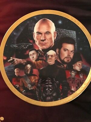 Star Trek TNG Collectors Plate from The Hamilton Collection