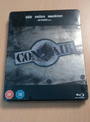 Steelbook Blu-Ray Con Air Play.com New Sealed