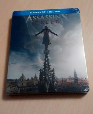 Steelbook Blu-Ray 3D Assassins Creed Mediamarkt España Nuevo Precintado