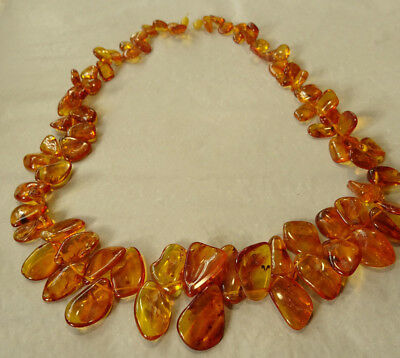 ART DECO exclusives Bernstein Kette Königsberg Baltic sea Amber Necklace Nr.69