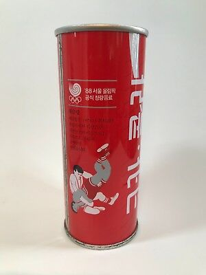 1988 South Corea Olympic Games Coca Cola Can 250ml