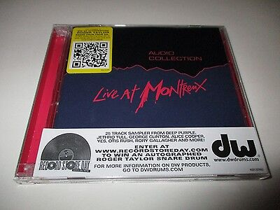 Live At Montreux - montreux Audio Collection CD RSD 2011 2 Discs 25 Tracks NEW