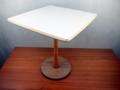 VTG 1960's Mid Century Modern Tulip Base White Table Nanna Ditzel Saarinen Era