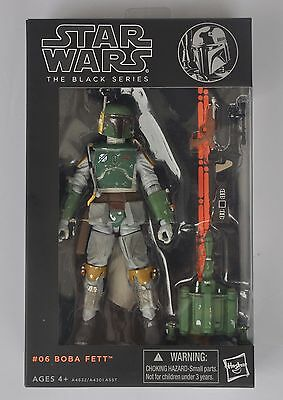 """Hot Star wars the Black Series 6"""" Action Figure Boba Fett Gift (new in box)"""