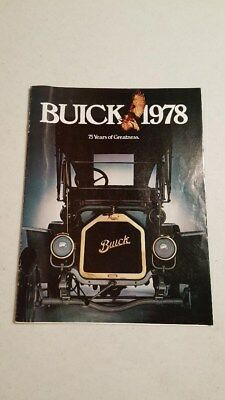 1978 Buick Sales Brochure (BUICK 1978 75 Years of Greatness)